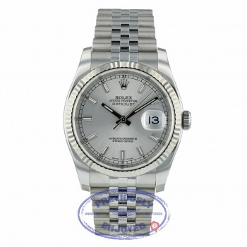 Rolex DateJust Stainless Steel Jubilee Bracelet 116234 2DDD62 - Beverly Hills Watch Company