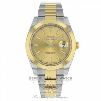 Rolex Datejust II 41mm Domed Bezel Yellow Gold 126303 39X66C - Beverly Hills Watch