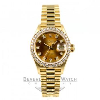Rolex 18K Yellow Gold Datejust 69138 Beverly Hills Watch Company