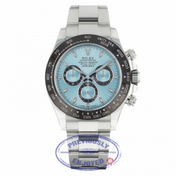 Rolex Daytona 40MM Platinum Anniversary Edition Chestnut Brown Monobloc Cerachrom Bezel 116506 111111 - Beverly Hills Watch Company