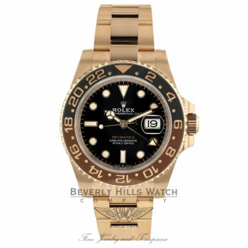 Rolex GMT Master II Everose Chocolate Ceramic 126715 ZN04E7