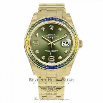 Rolex Pearlmaster 39mm 18k Yellow Gold 86348SABLV RPEH6T - Beverly Hills Watch