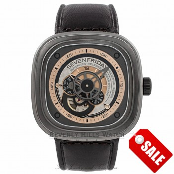 SevenFriday Industrial Revolution SF-P2/01 8J9AFW - Beverly Hills Watch Company Watch Store