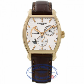 Vacheron Constantin Malte Tonneau Dual Time Rose Gold 47400/000r-9101 A4P0EH - Beverly Hills Watch Company