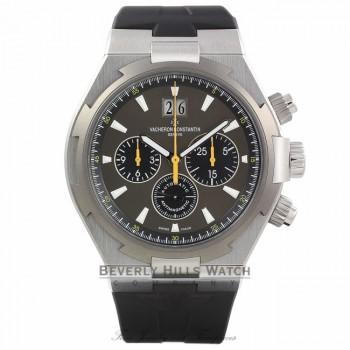 Vacheron Constantin Overseas Chronograph Automatic Grey Dial 49150/000W-9015 J9WMDA - Beverly Hills Watch Company