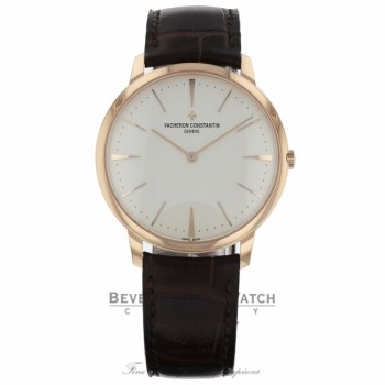 Vacheron Constantin Patrimony Grand Taille 40mm Mens Watch 81180/000R-9159 MNXVND - Beverly Hills Watch Company