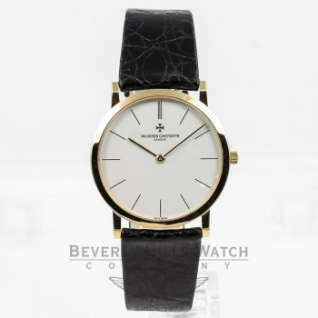 Vacheron Constantin Patrimony Ultra Thin Yellow Gold 33093-00J-0876 Beverly Hills Watch Company