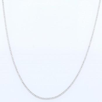 Naira & C 4.56ctw Diamond Tennis Necklace - Beverly Hills Watch Company